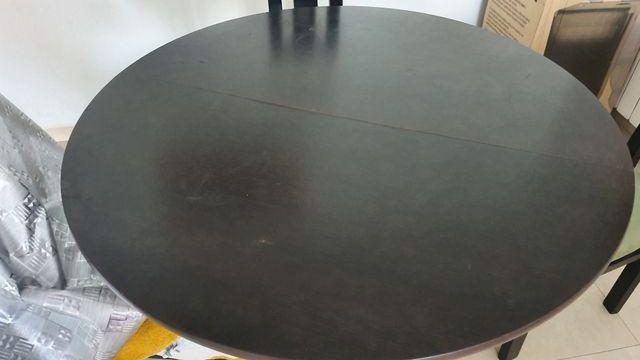 mesa comedor redonda muy fuerte