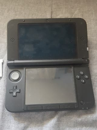 consola nintendo 3ds XL + juego + cargador
