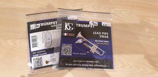 limpiadores BG para trompeta