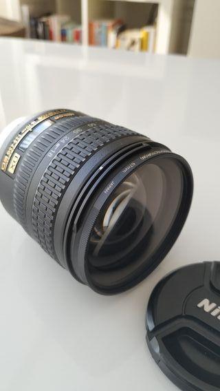 objetivo Nikon nikkor 18-70 DX zoom