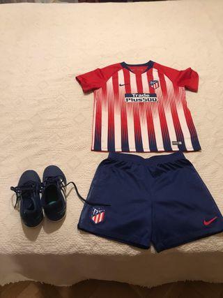 Equipación del Atlético de Madrid