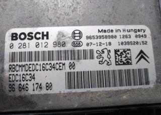 Centralita motor Bosch 0281012980-9664617480