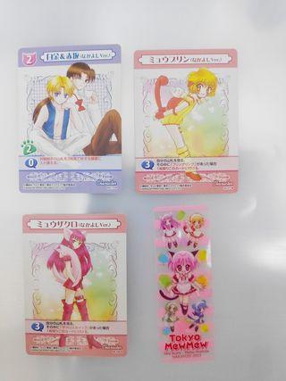cartas Tokyo Mew Mew