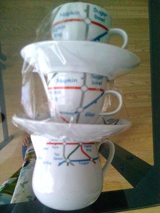 juego cafe tu y yo con jarra lechera a estrenar