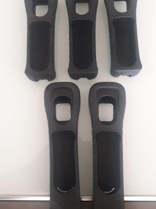 5 Fundas de mando de Wii.