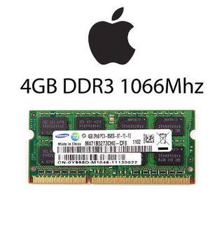 Memoria Ram Mac 4Gb sodimm ddr3 1066Mhz