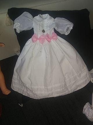 Nancy vestido de comunión