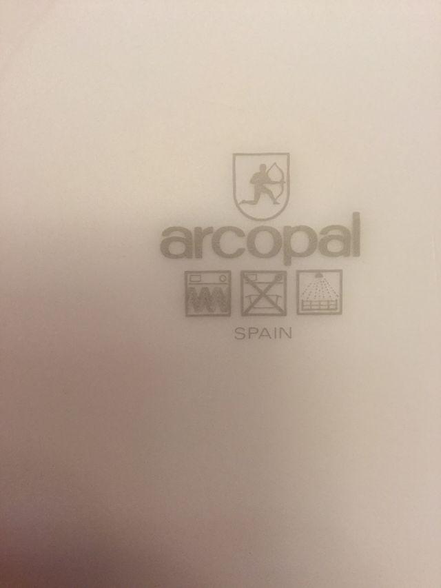 Vajilla Arcopal 50 piezas, nueva