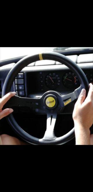 volante desplazado
