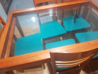 mesa comedor + sillas