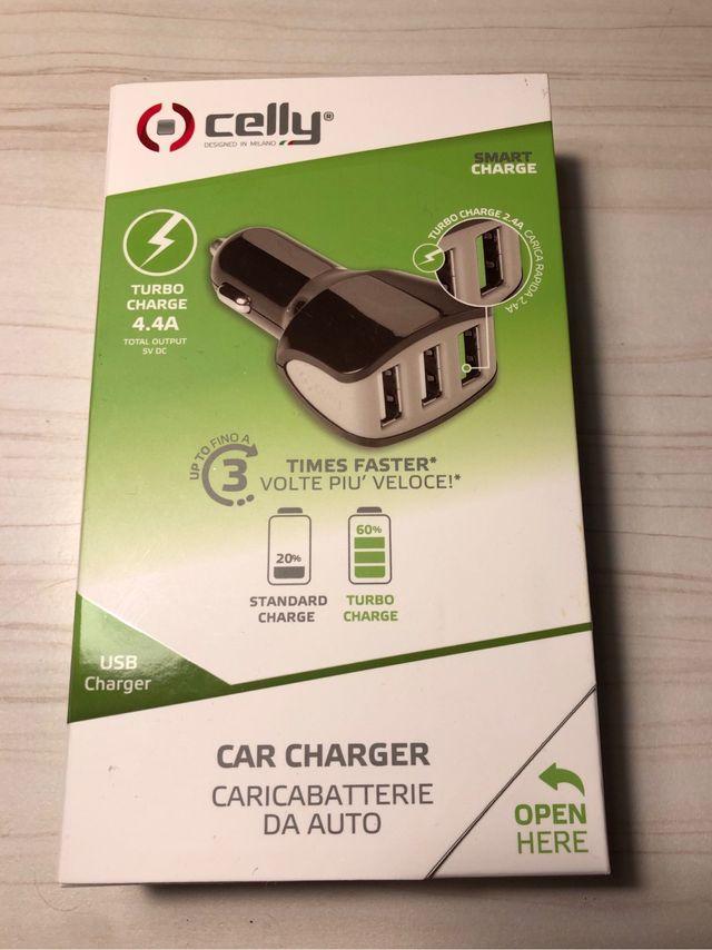 Cargador USB de coche