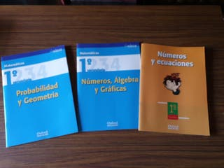 Cuadernos de matemáticas 1° secundaria