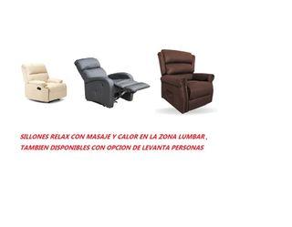 SILLONES RELAX CON MASAJE A ESTRENAR DESDE 250€