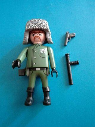 Playmobil soldado militar policía película