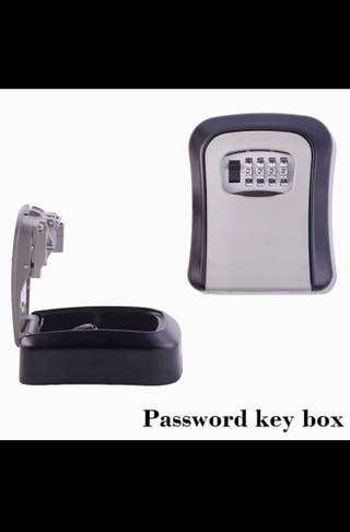 Caja guarda llaves exterior