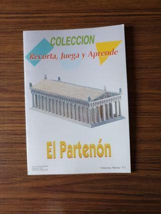 Recorta y aprende: el Partenón