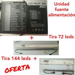 FUENTE ALIMENTACIÓN+TIRAS LED