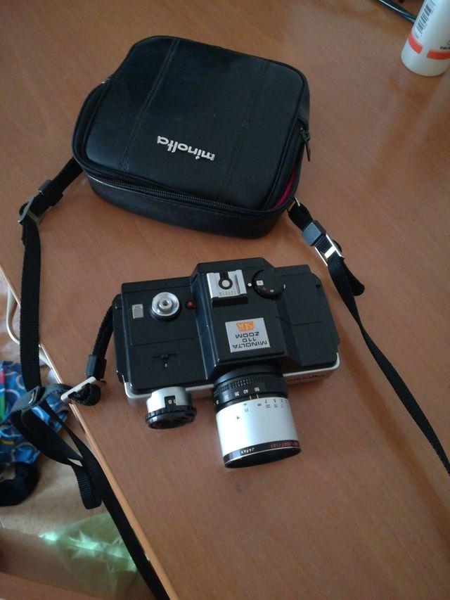 camara fotográfica Minolta