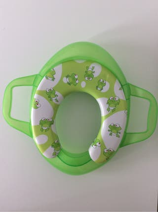 Asiento reductor baño para niñ@s