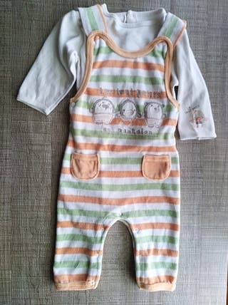 Ropa bebé muy abrigadita Talla:6-9 meses