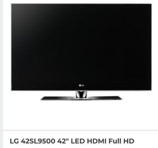 "tv lg 42"" full hd SL9500"