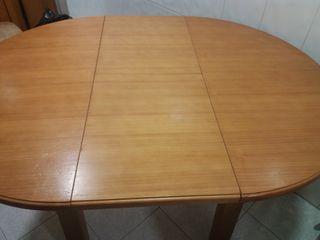 mesa de madera cocina o comedor