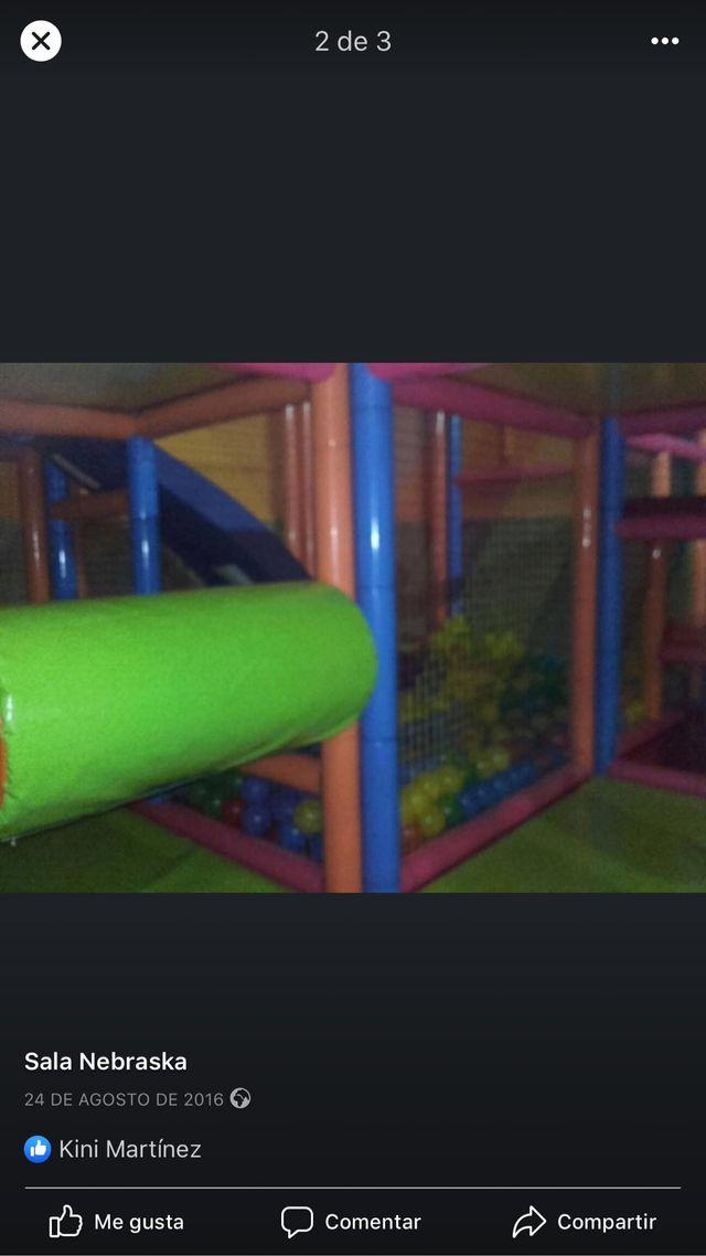 Parque de bolas para niños