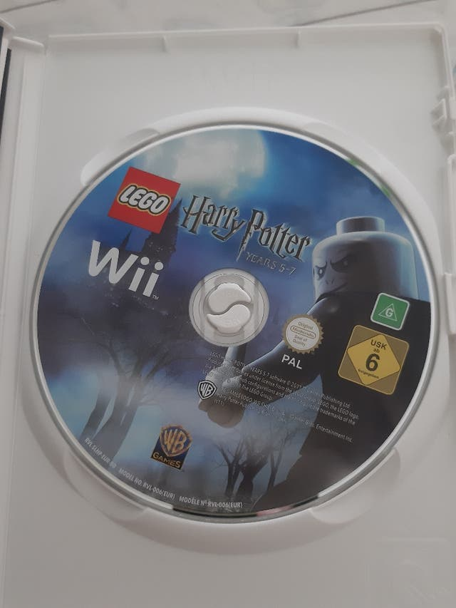Lego Harry Potter Wii (8€)