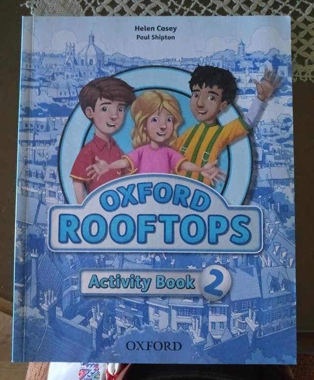 Libro de inglés Oxford Rooftops Activity Book 2 °