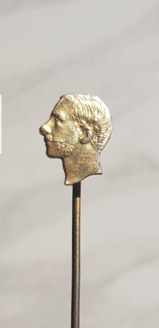 Insignia de Alfonso XII plata