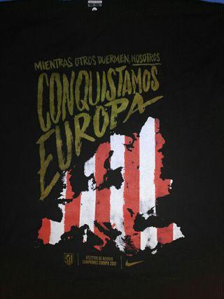 camiseta campeones de Europa league
