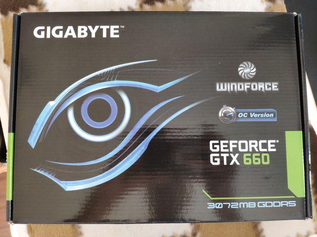 Gigabyte GeForce GTX 660 OC 3GB GDDR5