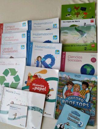 Libros 2º primaria