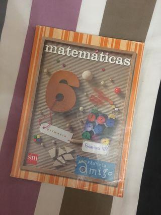 Libro Matemáticas 6 Primaria (SM)