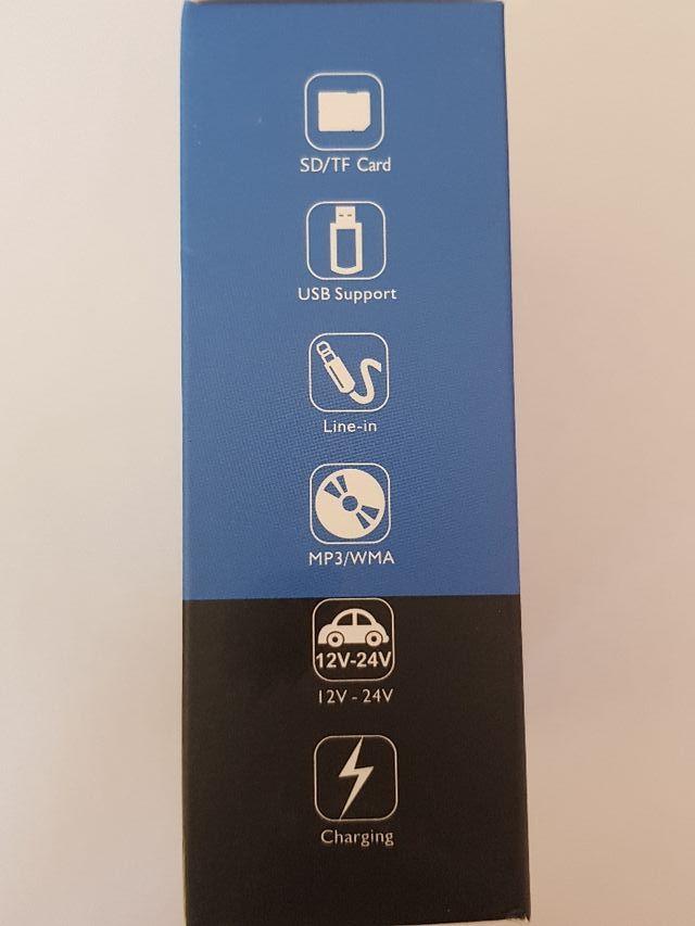 Bluetooth para Coche Manos Libres Cargador USB