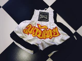 Short Thai. Pantalón Kick boxing Muay Thai, boxeo