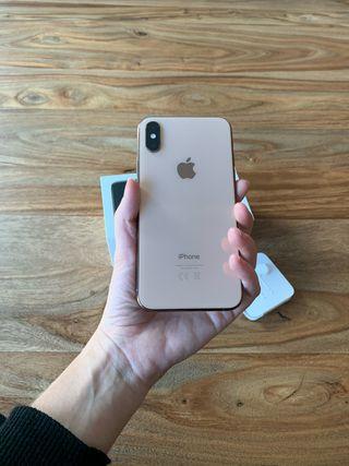 iPhone XS 64GB impecable y en caja!