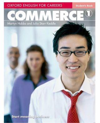Libro ingles oxford Commerce 1