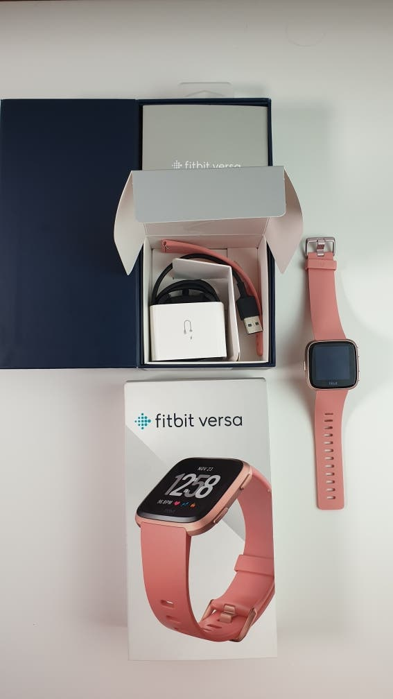 Fitbit Versa rosa