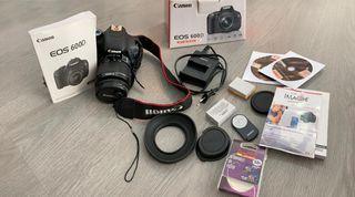 Cámara Canon Reflex 600D