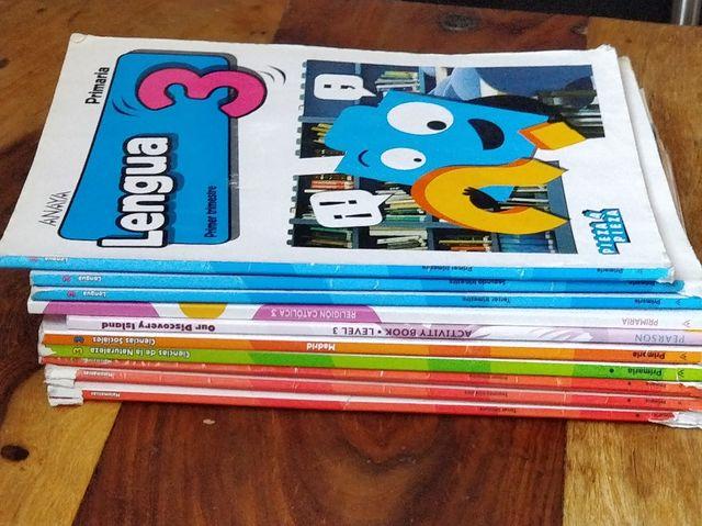 Libros de 3° de Primaria - Amaya