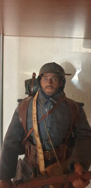 Figura Soldado Francés escala 1/6 DID