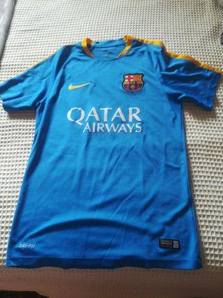 Camiseta oficial de entrenar del barcelona talla s