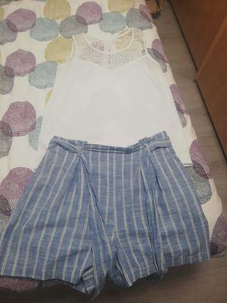 Conjunto pantalon n36 y camiseta t38