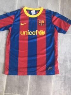 Camiseta original de fútbol del Barcelona