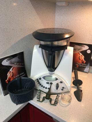 Thermomix TM31 + 2º vaso con cuchillas + bolsa +