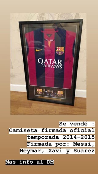Camiseta del FC Barcelona 2014-2015