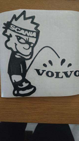 Pegatinas Scania Volvo