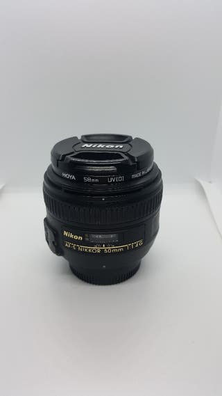 Objetivo Nikon 50 F1.4