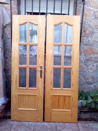 Puerta Acristalada de Salon